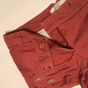 J. Crew Embroidered Shorts